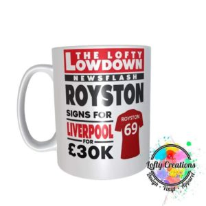 Lofty Lowdown mug