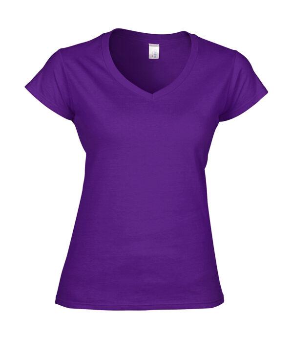 Ladies V-Neck T-shirt 2